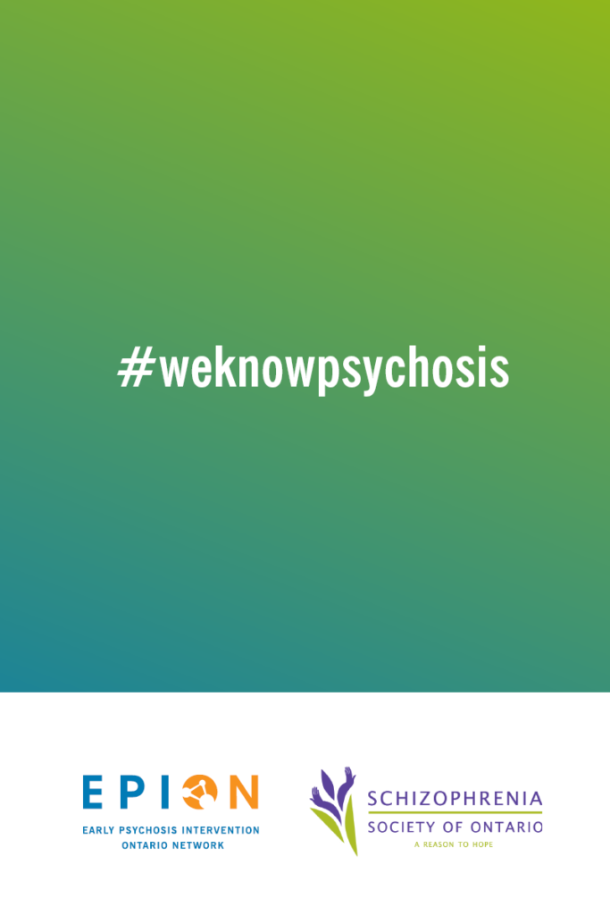 EPION + SSO partner on social media campaign educating about links between cannabis and psychosis. #weknowpsychosis