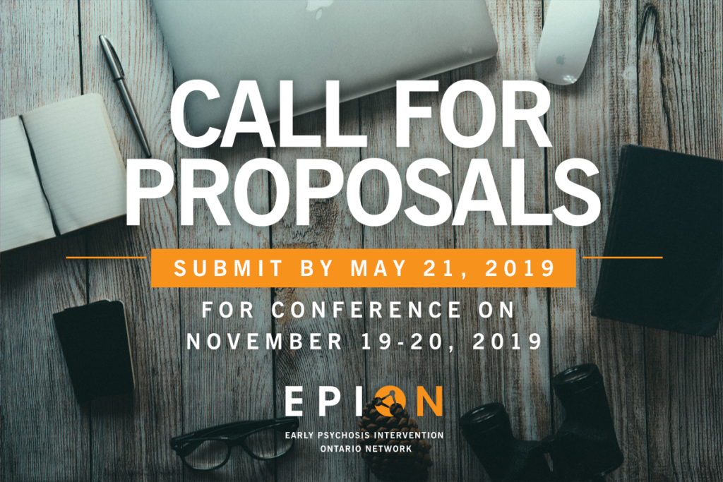 EPION2019 Conference: Call for Proposals. Submit an abstract by May 21.